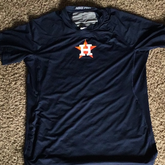 Nike MLB Other - Nike Pro Houston Astros shirt
